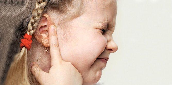 средний отит уха у детей