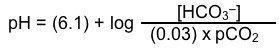 уравнение Хендерсона-Хассельбаха